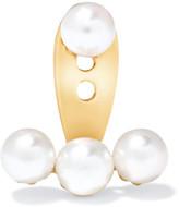 Yvonne Léon - 18-karat Gold Pearl Earring - one size
