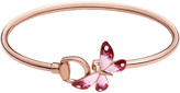 Gucci Flora 18ct rose gold butterfly bracelet