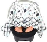 Balboa Baby Car Seat Canopy Navy Leaves