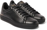 Tom Ford - Warwick Perforated Grained-leather Sneakers