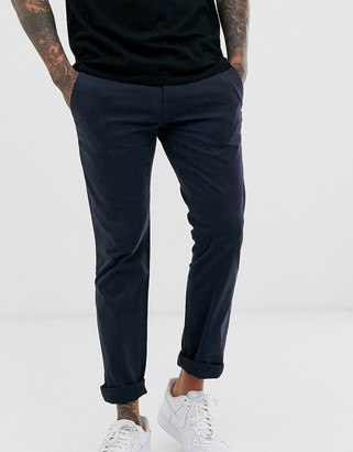 HUGO BOSS Shino slim chinos in navy