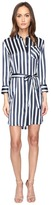 ATM Anthony Thomas Melillo Striped Shirtdress Women's Dress