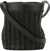 Paco Rabanne woven bucket shoulder bag - women - Leather - One Size