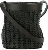 Paco Rabanne woven bucket shoulder bag
