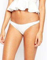 Asos Scuba Animal Textured Hipster Bikini Bottom