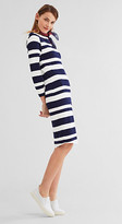 Esprit EDC -Striped jersey dress w stretch