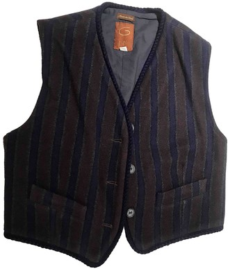 Romeo Gigli Blue Wool Jacket for Women