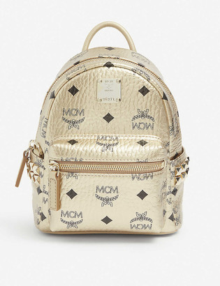 MCM Stark leather mini backpack
