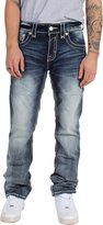 Rock Revival Mens Edwin Straight Jeans