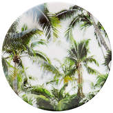 One Kings Lane Set of 4 Palm Trees Melamine Salad Plates - Green