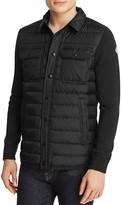 Moncler Knit Down Shirt Jacket