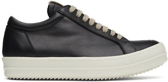 Rick Owens Black Vintage Low Sneakers