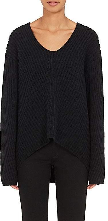 Acne Studios Women's Deborah Wool V-Neck Sweater
