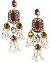 Ralph Lauren Swarovski Chandelier Earrings