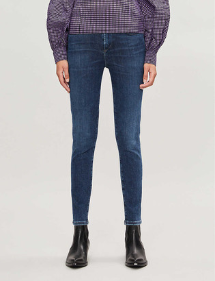 Citizens of Humanity Rocket stretch-denim high-rise skinny jeans
