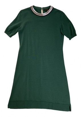 Louis Vuitton Green Cotton Dresses