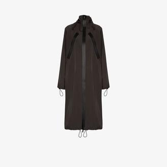 Bottega Veneta Long Hooded Parka Coat