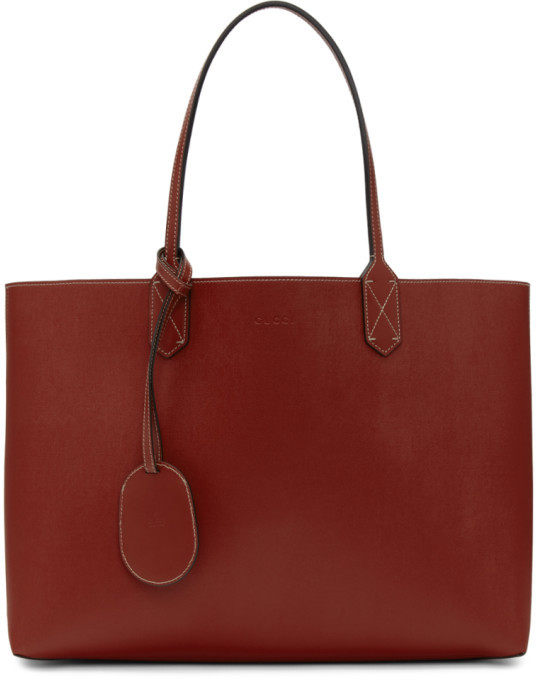 74c69477607396 Gucci Reversible Tote - ShopStyle