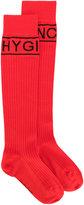 Givenchy logo pattern socks