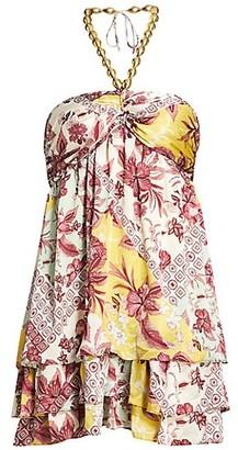 Alexis Irati Empire Mini Dress