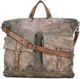 Numero 10 shoulder bag - men - Leather - One Size