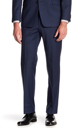 "Tommy Hilfiger Tyler Modern Fit TH Flex Performance Sharkskin Suit Separate Pant - 30-34"" Inseam"