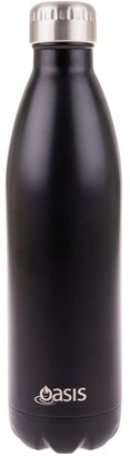 Oasis Stainless Steel Double Wall Insulated Drink Bottle 750ml - Matte