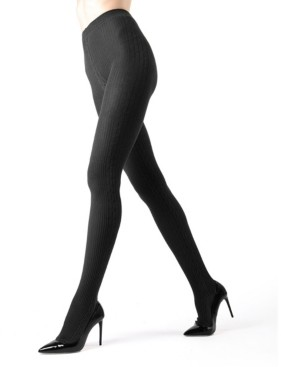 Me Moi Side Cable Sweater Women's Tights