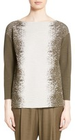 Lafayette 148 New York Women's Ombre Jacquard Sweater