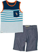 Lucky Brand Boys' 2Pc Tank & Short Set