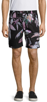 Paul Smith Floral Print Standard Fit Shorts