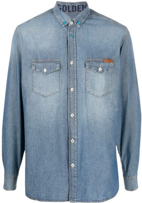 Golden Goose Faded Denim Shirt