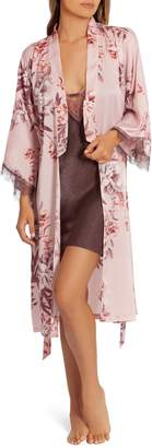 Midnight Bakery Floral Duster Robe