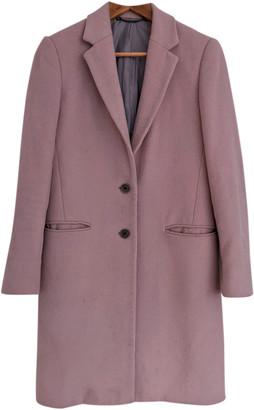 Jigsaw Pink Wool Coats