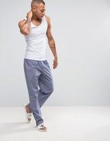Calvin Klein Woven Lounge Pants In Regular Fit
