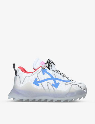 Off-White ODSY brand-patch mesh mid-top trainers