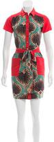 Sophie Theallet Printed Mini Dress