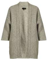Nili Lotan Naomi ribbed-knit alpaca-blend cardigan
