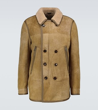 Tom Ford Shearling suede jacket