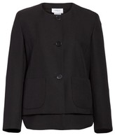 Akris Punto Women's Wool Jacket With Detachable Hem