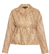 Rochas Point-collar bouclé-tweed jacket