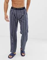 French Connection Woven Check Logo Lounge Pants