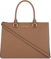MICHAEL Michael Kors Sutton large leather gusset shoulder bag