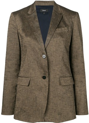 Theory tailored blazer jacket