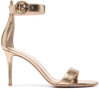 Gianvito Rossi Portofino 85mm leather sandals
