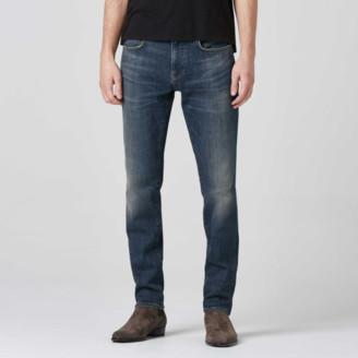 DSTLD Mens Skinny Slim Jeans in Three Year Dark Blue