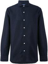 Barba printed shirt - men - Linen/Flax/Cotton - 40