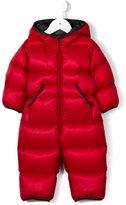 Moncler hooded snowsuit