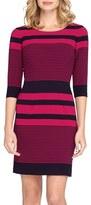 Tahari Stripe Sheath Dress (Regular & Petite)