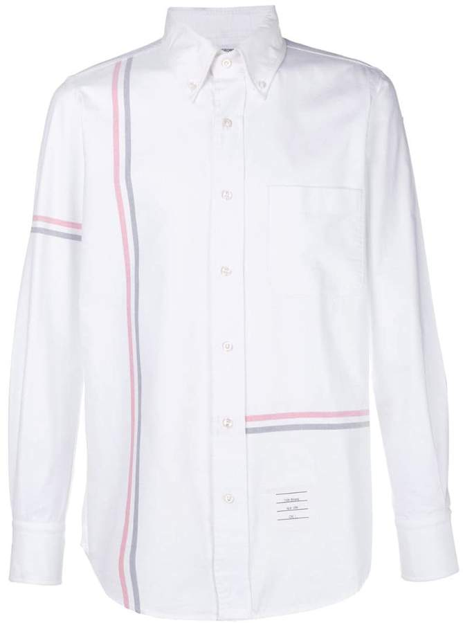 4b0f0d3fa21 Thom Browne Fitted Men's Shirts - ShopStyle